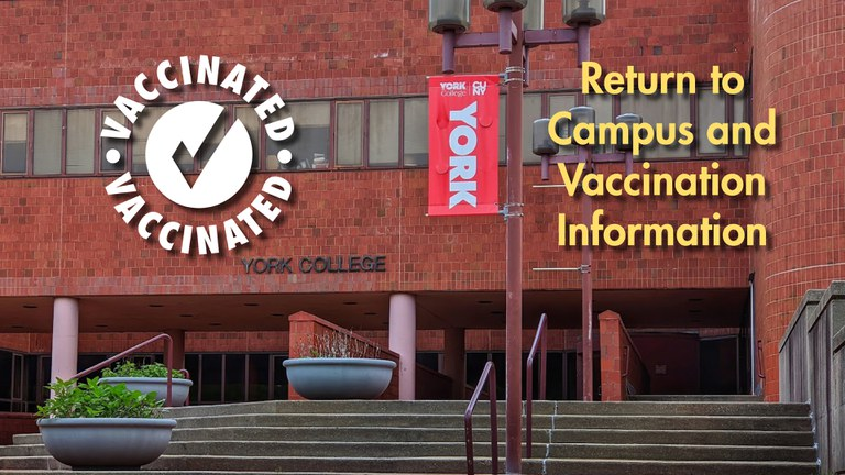 Return to Campus and Vaccination Information