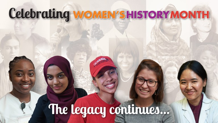 Celebrating Women's History Month. The legacy continues...