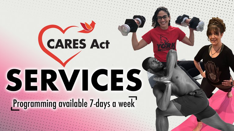 York CARES Act Services Programming available 7-days a week