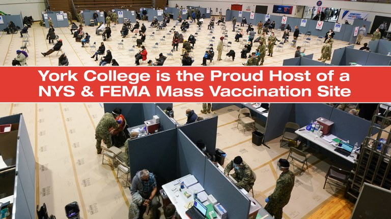 York is the proud host of an NYS and FEMA Mass Vaccination Site