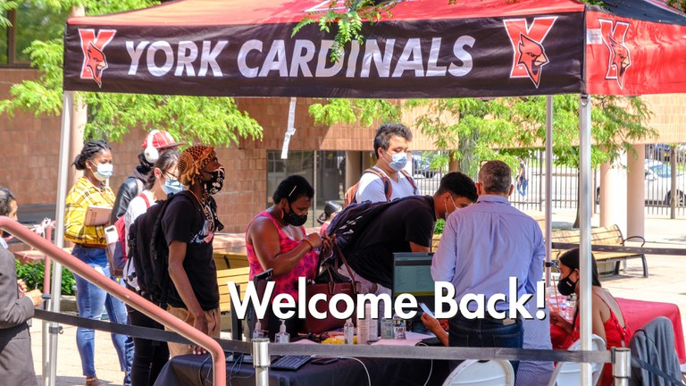 York Welcomes Students as Campus Reopens