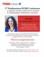 3rd Northeastern RUME Conference