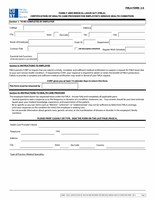 FMLA Certification of Health Care Provider for Employee's Serious Health Condition