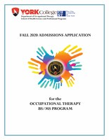 Fall 2020 OT Admission's Application