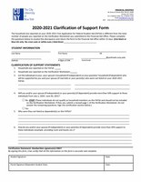 2020-2021 Low Income Worksheet