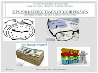 Tips for Keeping Track of Your Pension