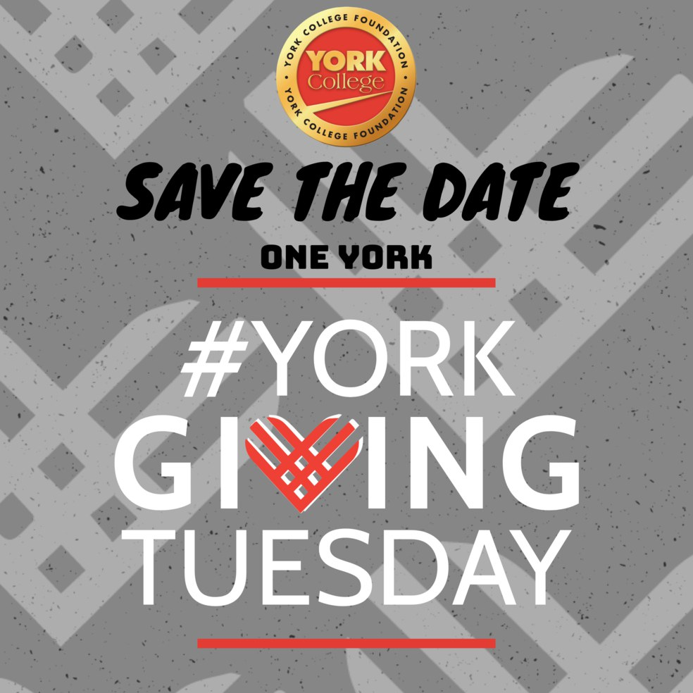 Save the Date, One York, #York Giving Tuesday