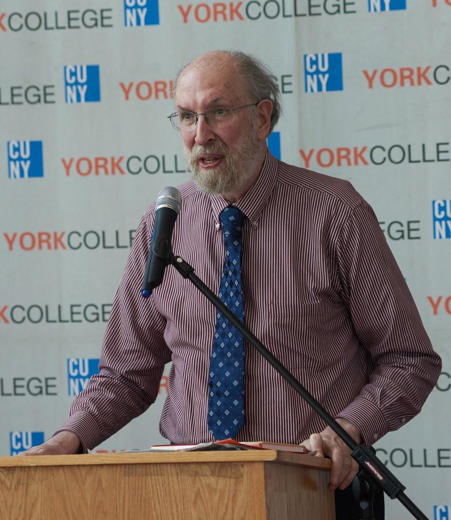 Keynote Faculty speaker, Joe Malkevitch