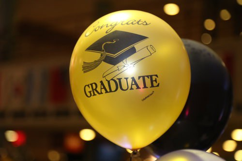 Graduate balloon