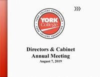 Foundation Board Presentation Annual Meeting 2019