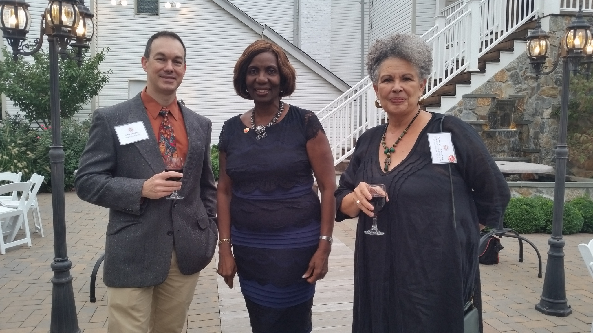 Dr. Tim A. Paglione, President Keizs & Dr. Margaret Vendryes
