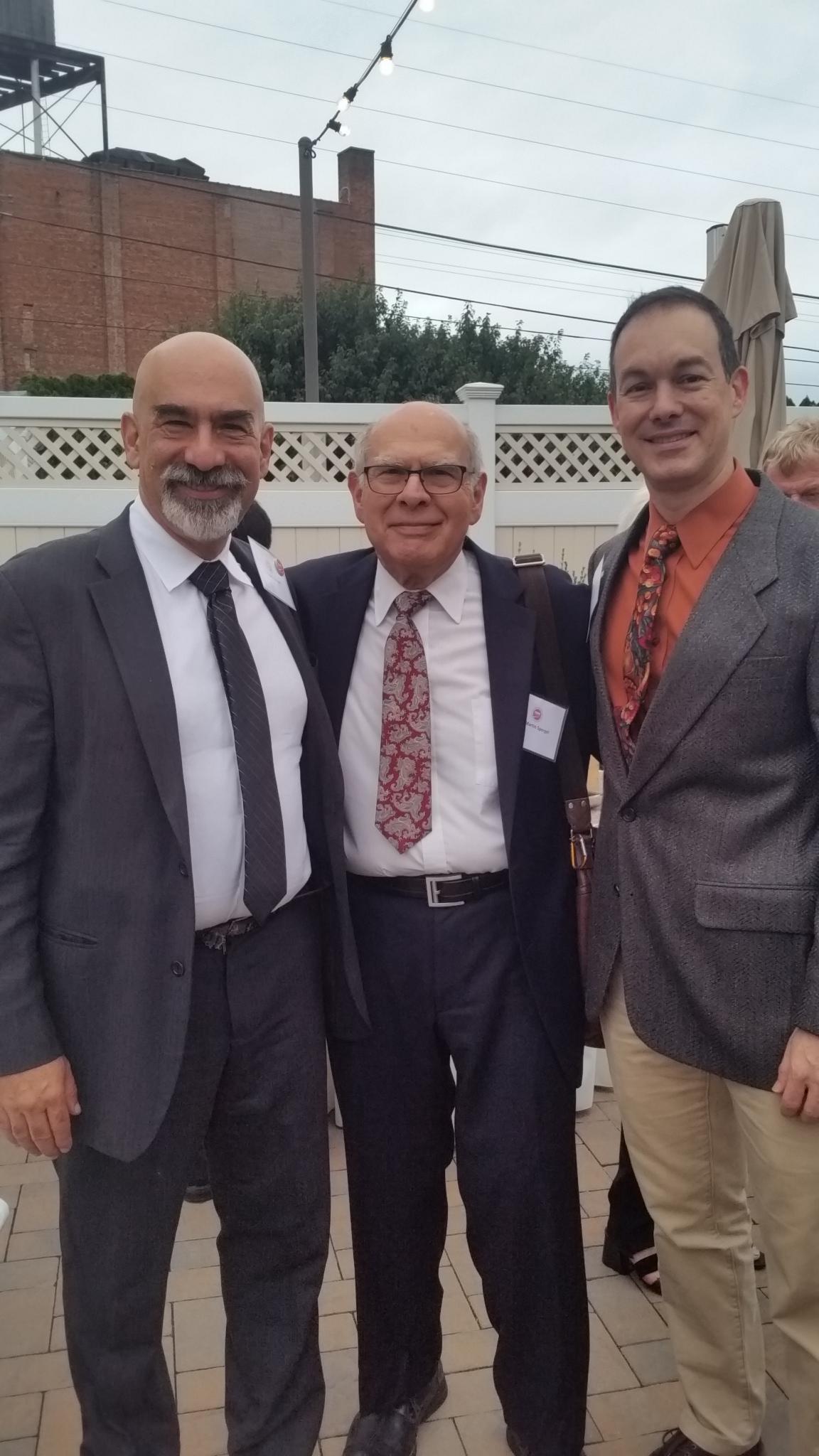 Dr. David Spergel, Dr. Martin Spergel & Dr. Tim Paglione