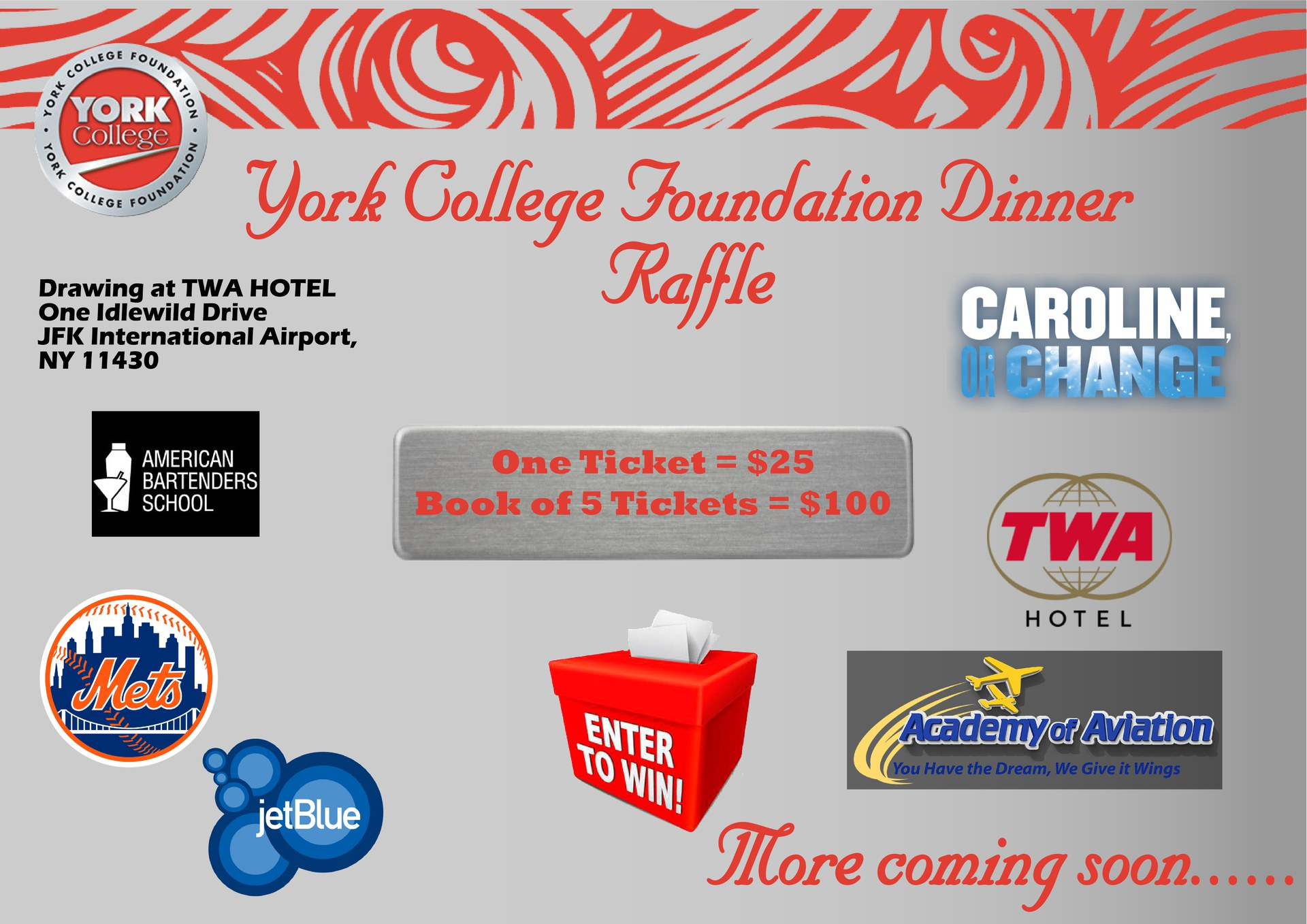 York College Foundation Dinner
