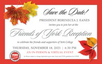 Save The Date - Friends of York FY22