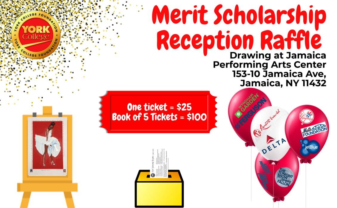 Merit Scholarship Reception Raffle