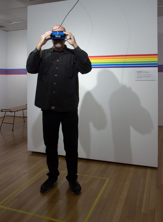 360/VR video on virtual reality headset installation