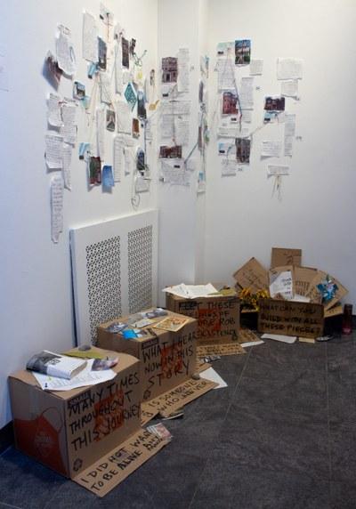 2020, mixed media installation