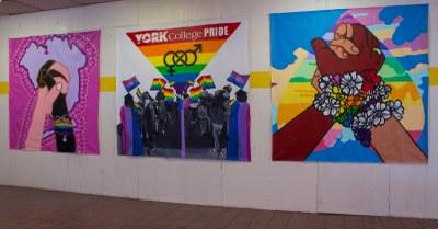 Custom Murals campus installation