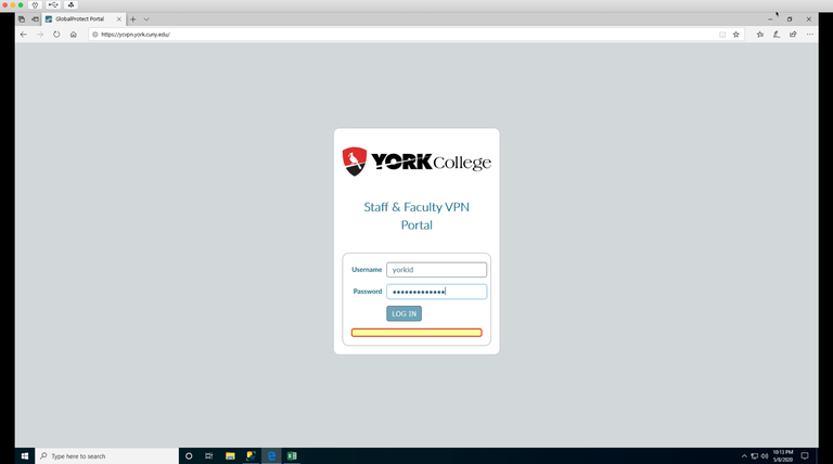 yc global protect software portal
