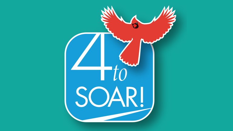 4 to soar logo