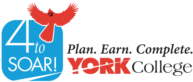 4 to Soar! Plan. Earn. Complete. York College
