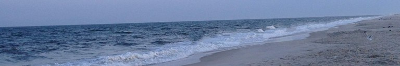 a beach scenary