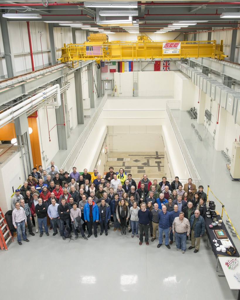 This picture shows our newly constructed experimental hall, only half of which is visible. The Mu2e Collaboration expects to begin taking data in 2023.
