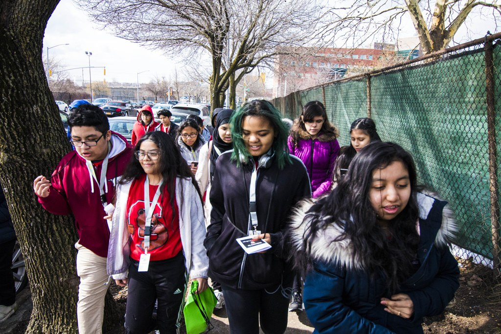 CUNY Explorers Students at York College