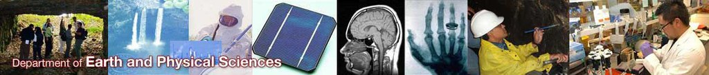 Department of Earth and Physical Sciences
