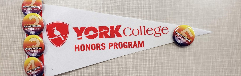 York College Honors Program flag