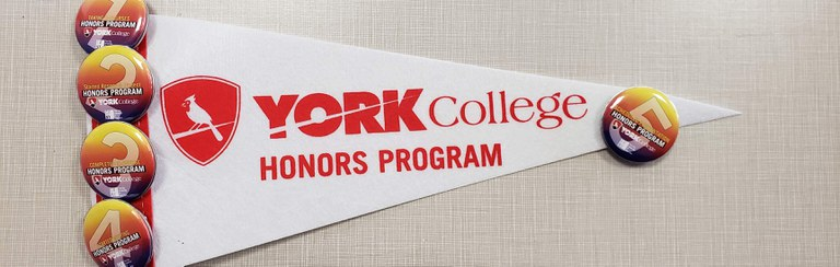York College Honors Program flag