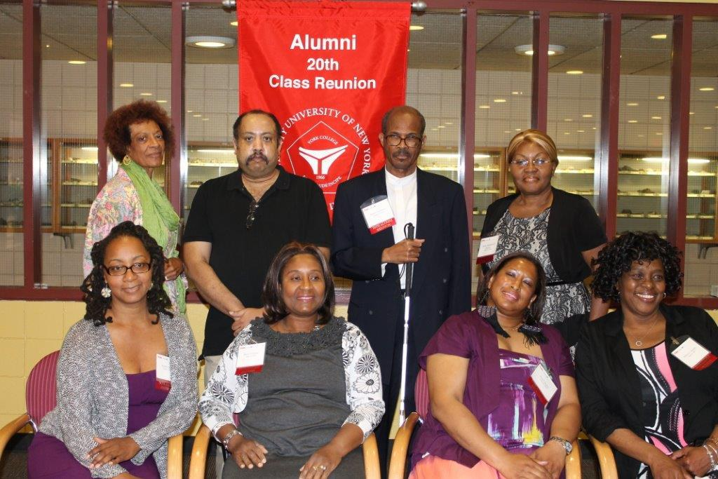 Alums from the 20th Class Reunion