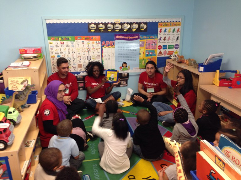2014-2015 Jumpstart Session at South Jamaica Center