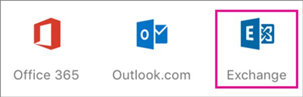 Inbox Exchange PIc for outlook