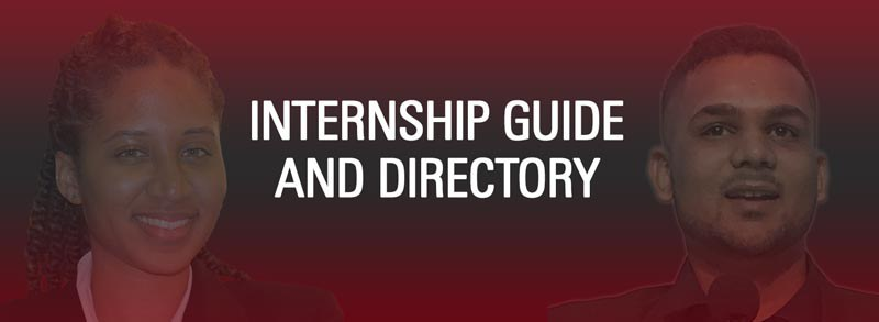 Career services internship guide and directory