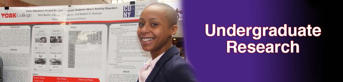 The Undergraduate Research Program at York College