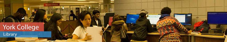 Busy students in the library.
