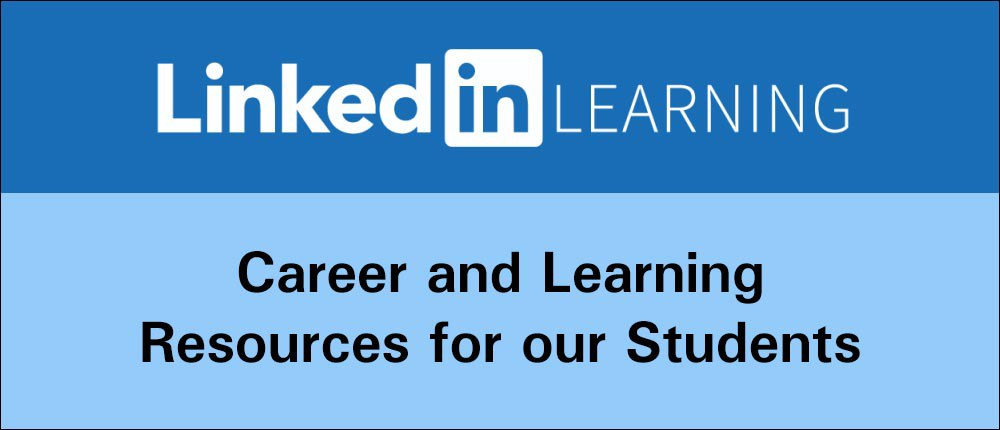 LinkedIn learning career and learning resources