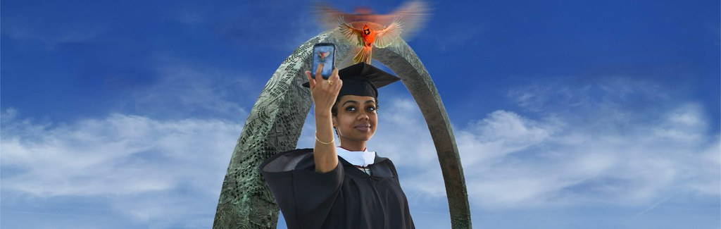 MSW Program Student taking Selfie