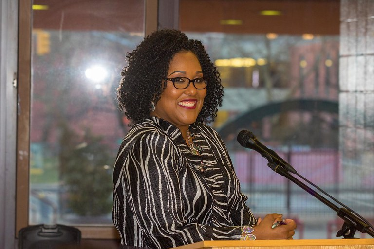 The moderator for our April 4th event.
