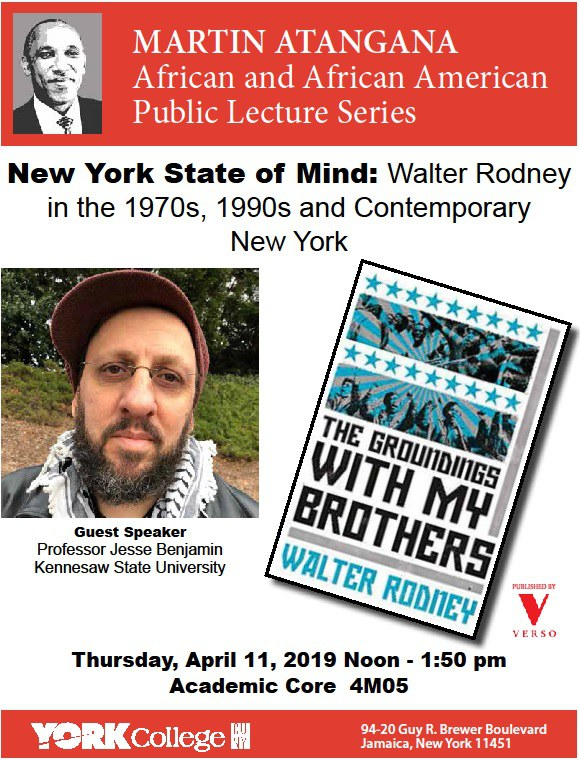 New York State of Mind Lecture Poster