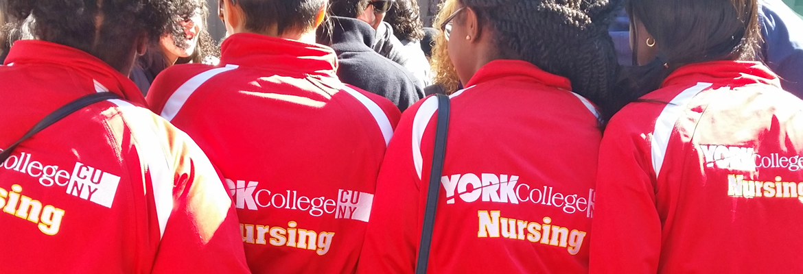 York College Nursing Jackets