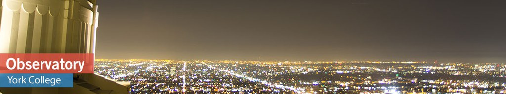 The Observatory is open to the public every second or third Wednesday of the month rain or shine at 7:30pm