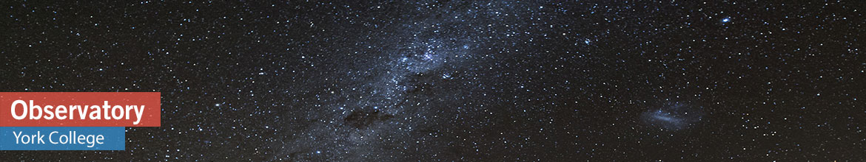 York College Observatory Header 3