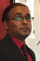 Rajendra Persaud, Admissions counselor