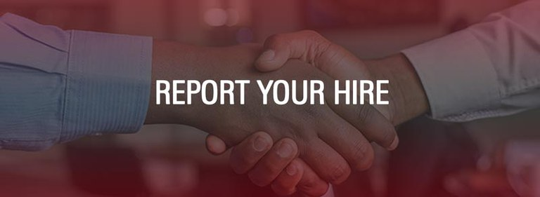 Career services report your hire