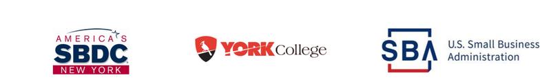 SBDC, SBA and York  Logo