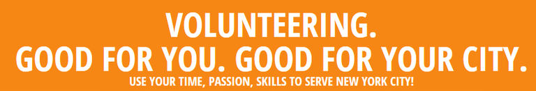 Volunteering Good for you. Good for your City