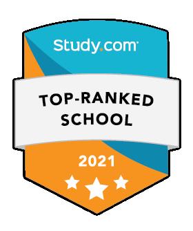 Study.com Top-Ranked School 2021