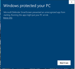 GP Installer Windows Protected PC
